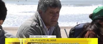 """Los alumnos de la Escuela Nº 216 """" Héroe de Malvinas Soldado Gabino Ruíz Díaz"""" en la TV"""